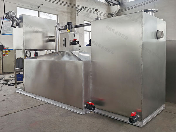 食堂用地上式组合式隔油提升一体设备产品介绍