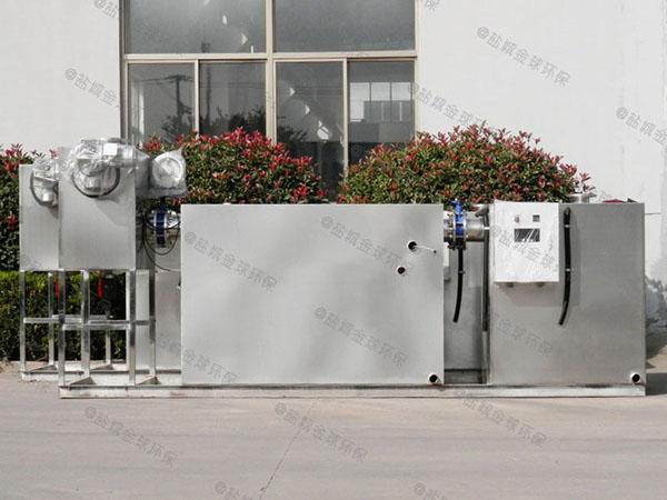 厨下型大型地上简易隔油一体化提升设备处理能力