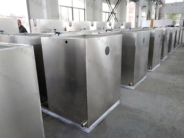 商用地上式移动式隔油器提升设备内部结构