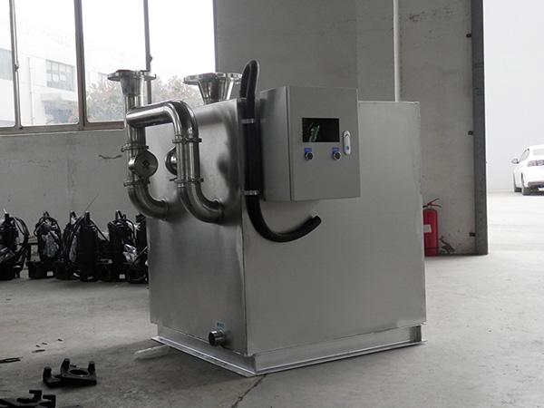后厨大地上全能型隔油强排设备说明书