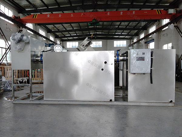 商家大地埋组合式隔油提升一体化装置施工工艺