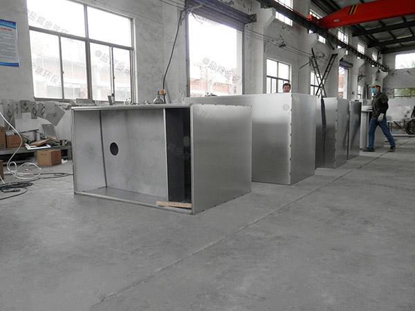 厨下型中小型地下室组合式隔油器自动提升装置安装