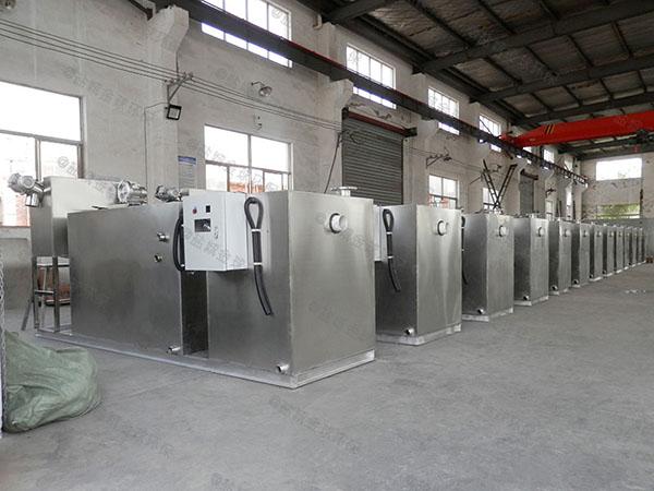 餐馆大型室内多功能隔油污水提升装置工艺特点