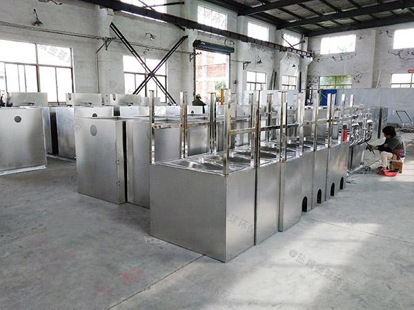 户外中小型地埋式移动隔油强排一体化设备制造厂家