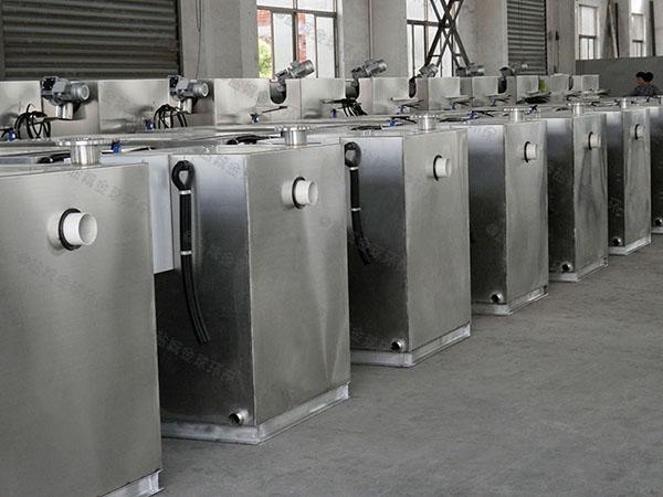 厨下型地面智能型隔油一体化提升设备材料