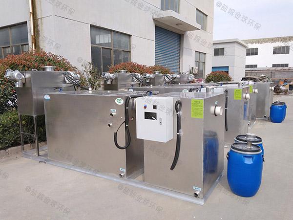 饭馆中小型地上自动化隔油提升设备一体化装置的选择