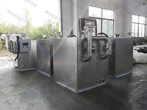 中餐中小型地下自动化隔油一体化提升设备质量