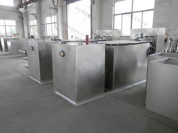 厨余地下室大型自动提升隔油器自动提升装置如何