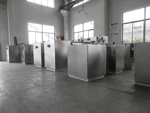食堂用室内中小型自动化隔油强排设备改造