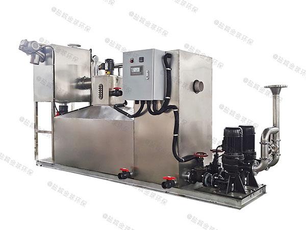 商用大型地面式自动隔油提升一体化装置案例
