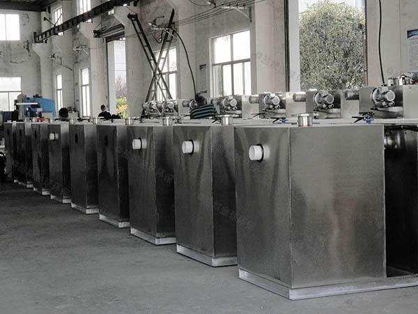 生活大室外分体式隔油提升一体机的选型