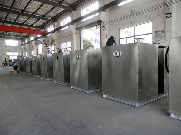 餐饮环保大室内全自动智能型隔油提升一体化装置生产厂商
