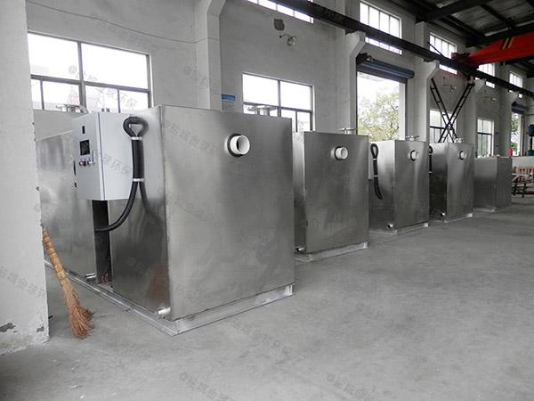 火锅专用中小型地埋式机械隔油提升设备一体化装置价格图片