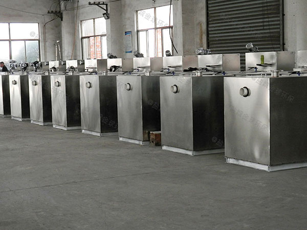 食堂室外中小型移动式隔油提升一体化装置改造公司