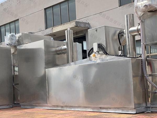 小区户外中小型智能型隔油强排设备工艺流程