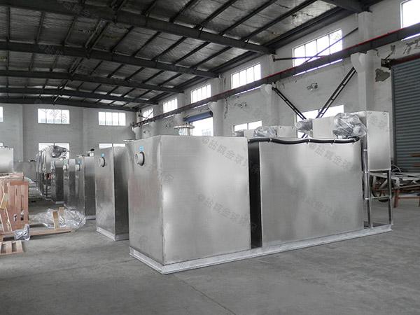 火锅店室内大型自动除渣隔油强排一体化设备排行