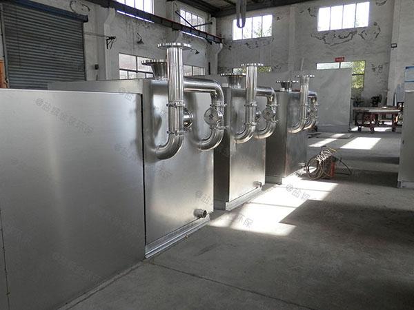 厨用大型地埋式移动式隔油提升一体机重量