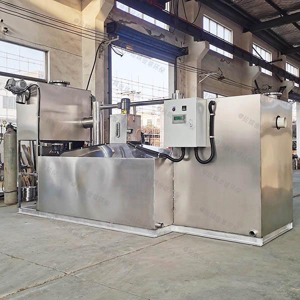 工厂食堂大型埋地全自动智能型隔油提污设备产品介绍
