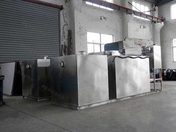 工地食堂埋地分体式隔油器提升设备效率