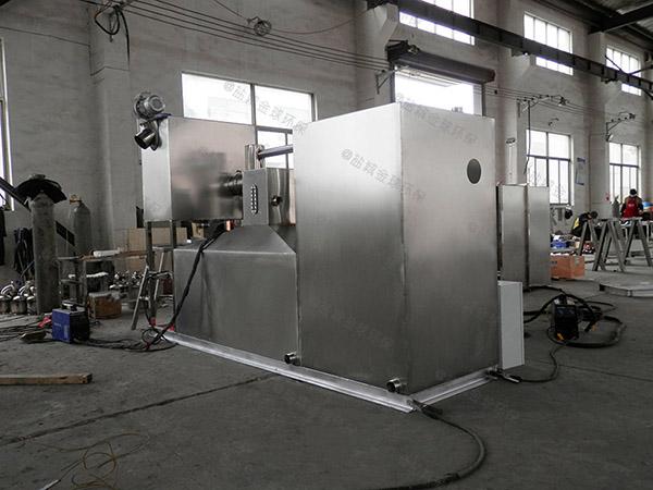 餐厅厨房大埋地式半自动隔油净化设备厂家供应
