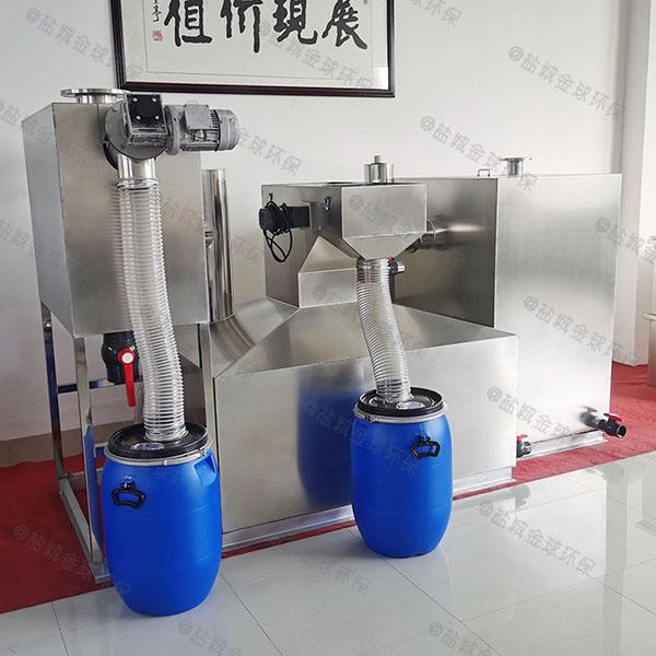 商业大型地埋式移动隔油污水提升一体化设备招商