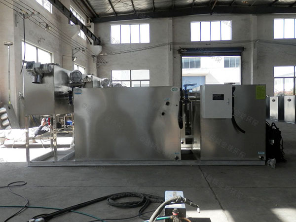 工厂食堂大型埋地式全能型隔油污水提升一体化设备的价格
