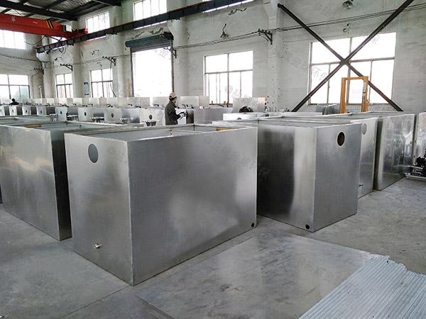 食堂用中小型地下式多功能隔油器自动提升装置购买