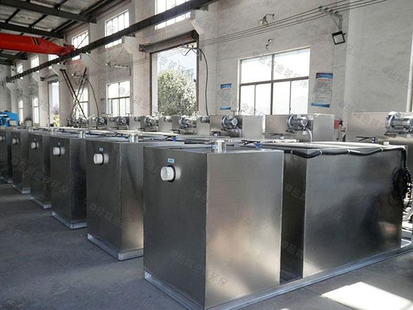 餐饮业地上式大自动排水隔油污水提升一体化设备技术参数