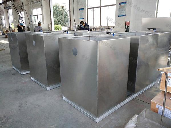 火锅专用地下式大型多功能隔油器自动提升装置的位置