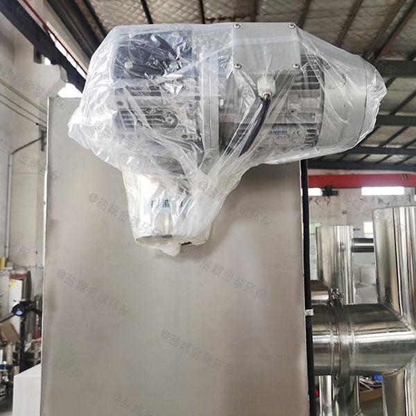 工地食堂户外中小型组合式隔油提升一体设备规格型号