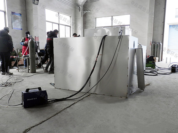 餐厅厨房中小型隔油污水提升装置尺寸