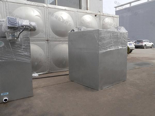 餐饮业室外大自动排水成品隔油器选用表