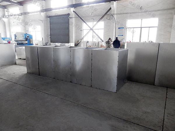 餐饮行业大地上式自动刮油隔油提升一体化装置改造厂家