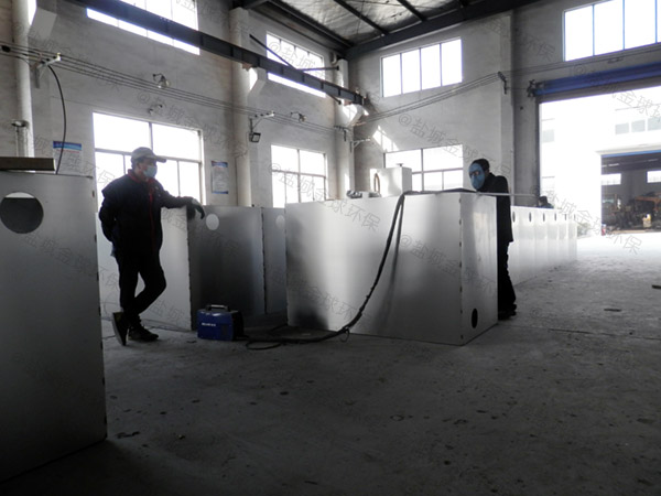 火锅店地下室大移动式隔油池提升一体化设备的价格
