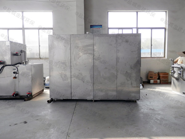 工地食堂大室外自动化隔油强排设备的图集