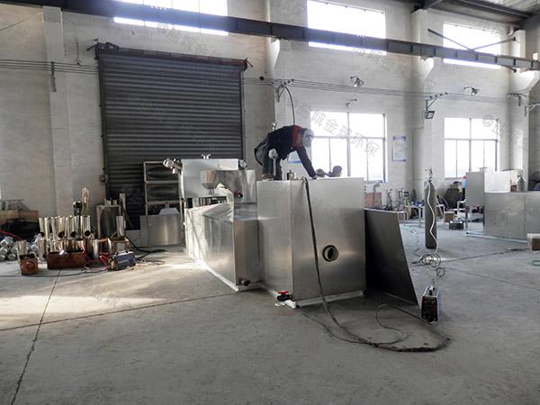 食堂用地面式大型组合式油脂分离机检验