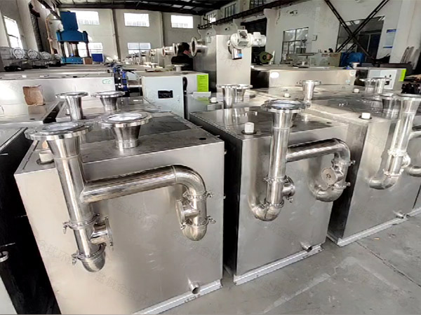 火锅店地埋式大全能型油水过滤分离器的型号规格