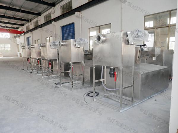 厨余大型智能一体化隔油污水提升设备的尺寸
