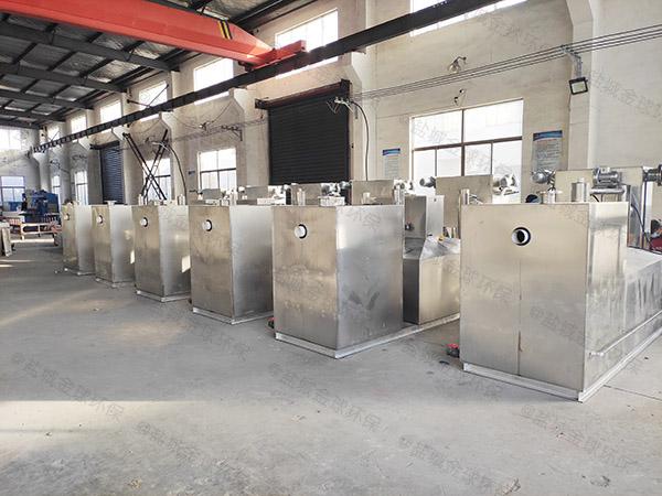 工厂食堂大型自动刮油污水隔油提升设备那种好