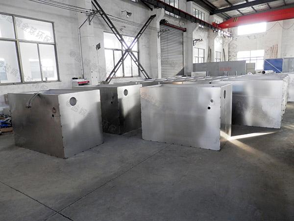 饭堂地下室自动化污水隔油器的原理图解
