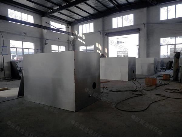 厨房户外自动除渣一体化油脂分离设备工厂