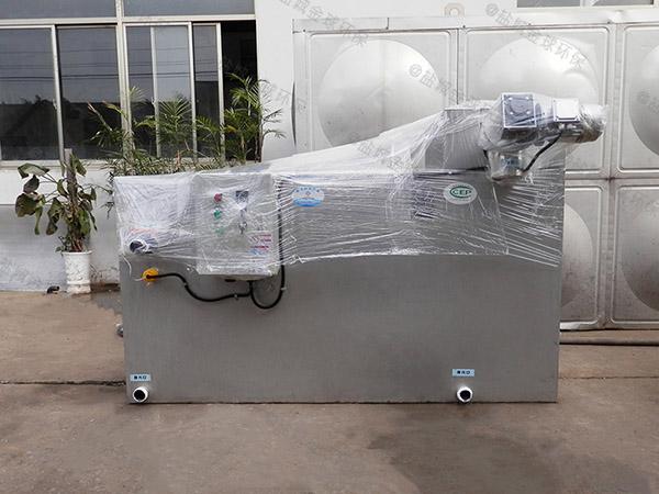 火锅专用埋地智能型三级隔油器怎么装