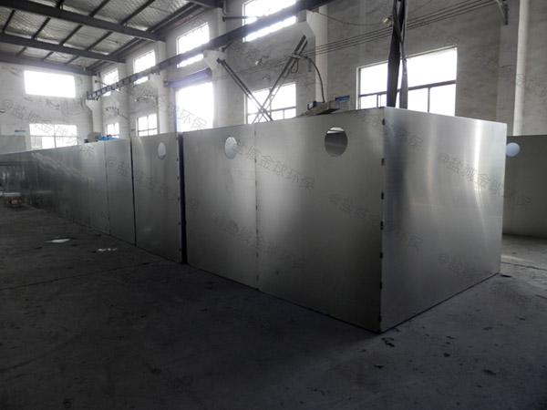 厨房用大型地埋式全能型油脂分离装置调试方案