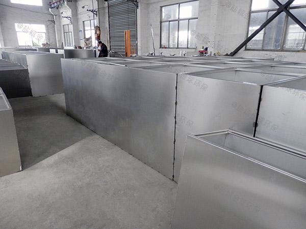 后厨中小型地上组合式油水分离提升设备单价