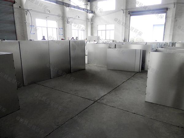 餐厅厨房大型地下自动除渣油水渣分离器哪个厂家的好