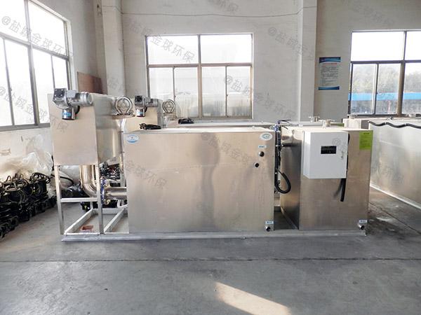 工地食堂地埋式大自动化提升隔油一体化设备厂商