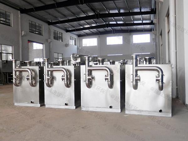 餐饮商户自动排水隔油装置的尺寸