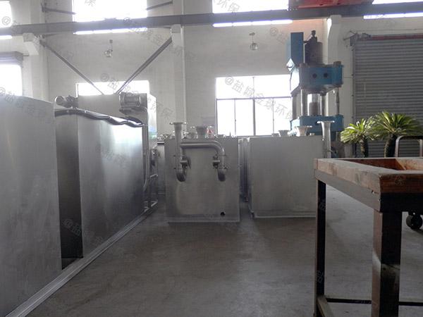 工地食堂地上式全自动隔油污水提升设备哪里好