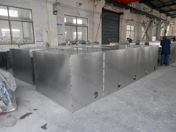 厨房用大地面式自动化油脂分离机CAD