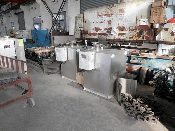 商场餐饮地埋简易污水处理油水分离设备标准
